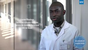 """Capture d'écran """"La recherche clinique"""""""