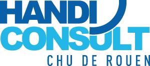 Logo de la plateforme Handiconsult du CHU de Rouen