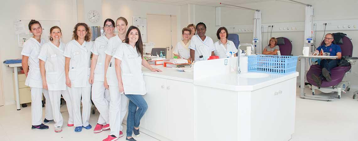 Équipe de l'hôpital de jour commun en rhumatologie, neurologie.