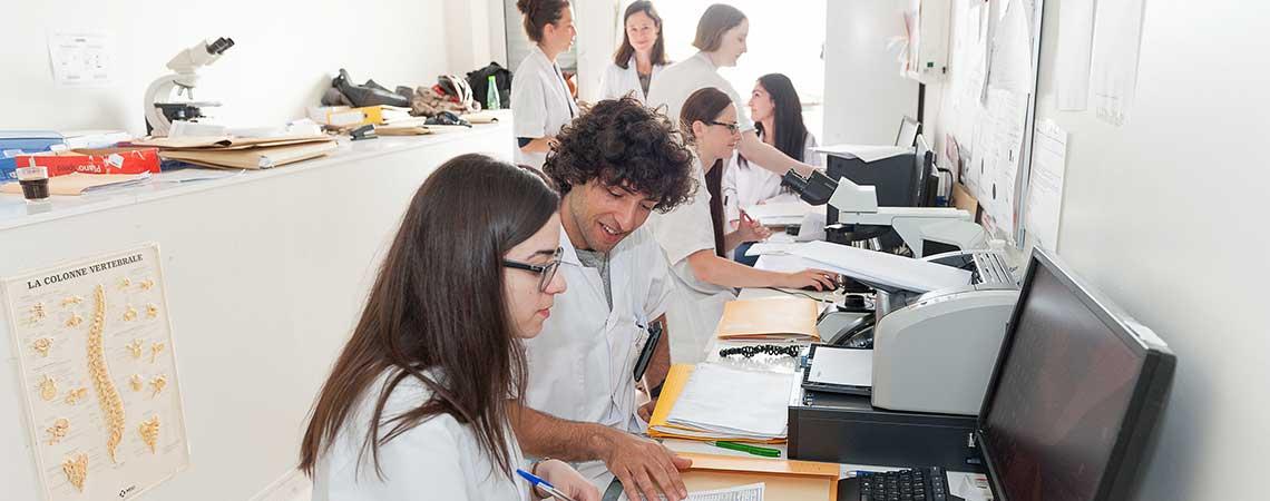 Salle des internes en neurologie, rhumatologie et douleur.