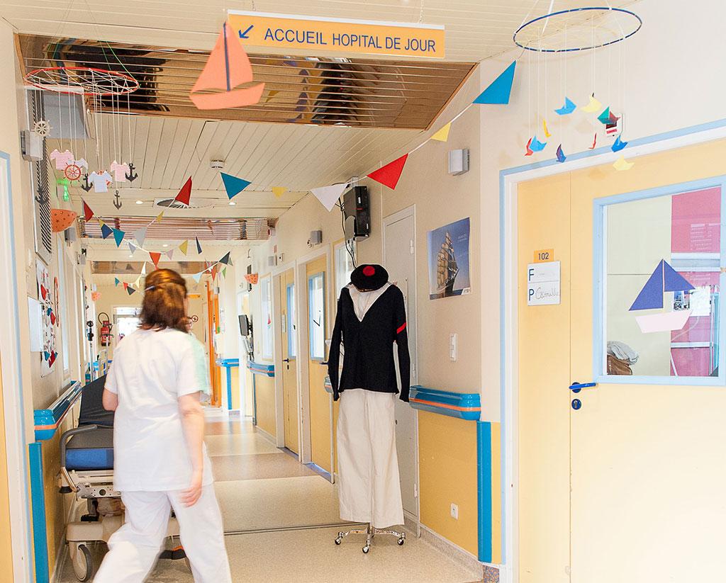 La pédiatrie aux couleurs de l'Armada 2019