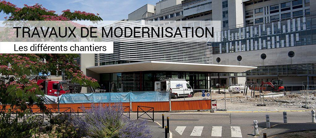 Zoom sur : les travaux de modernisation