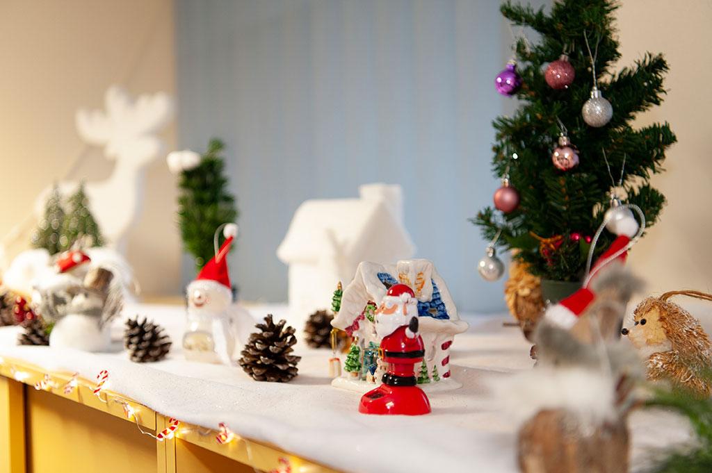 Décoration de Noël 2019 en consultation de la clinique chirurgicale