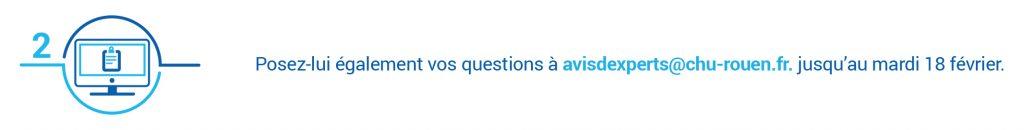 Envoyez vos questions au Dr Chastan à avisdexperts@chu-rouen.fr jusqu'au 18 février 2020 dans le cadre d'Avis d'experts sur l'épilepsie.