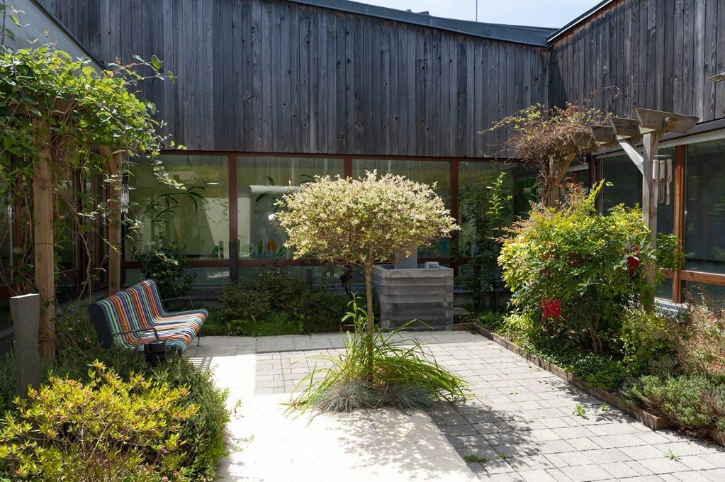 Le jardin Zen à l'UHR Oissel