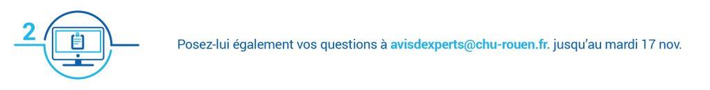 Avis d'experts Mois sans tabac 2020 - envoyez vos questions par email au Dr Baguet