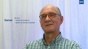 Témoignage de patients greffés rénaux : Daniel A.
