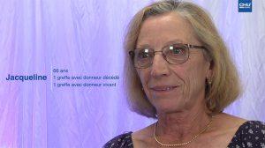 Témoignage de patients greffés rénaux : Jacqueline