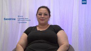 Témoignage de patients greffés rénaux : Sandrine