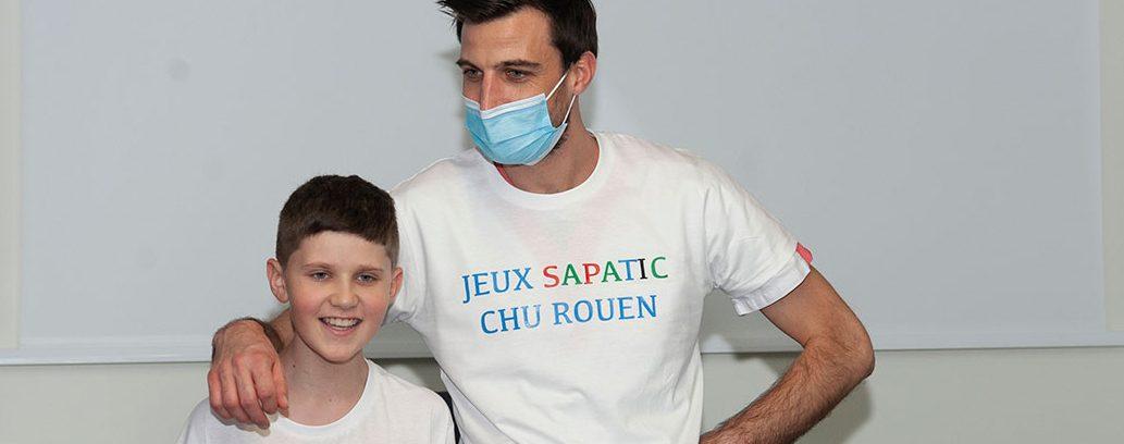 jeux-sapatic-2020-hémato-onco-pediatrie_Kevin Perrotte kinésithérapeute
