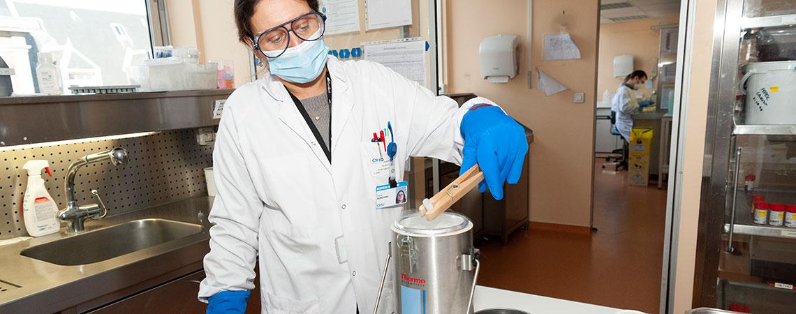 centre de ressource biologique tumorothèque CRB-TMT bombonne-d'azote