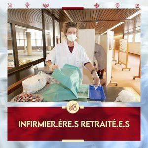 VaccinArena : recrutement d'infirmier.ère.s retraité.e.s