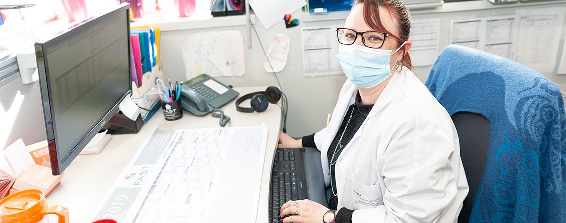 tumorothèque secrétaire
