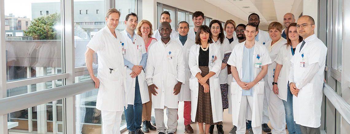 Equipe de chirurgie thoracique